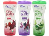 Plum Organics Baby Super Puffs Variety Pack (Six 1.5 oz containers)