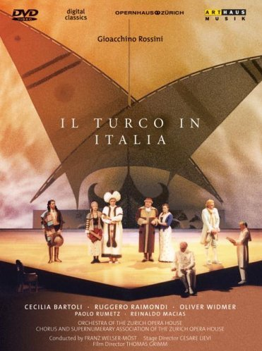 Il Turco In Italia (Bartoli-Raimondi) - Rossini  - DVD