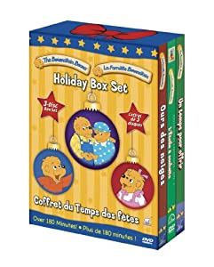La Famille Berenstain Holiday Box Set (Bilingual Packaging)