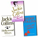 Jackie Collins Jackie Collins Collection 3 Books Set Pack RRP £62.91 (Drop Dead Beautiful, Lovers and Gamblers, Hollywood Wives)