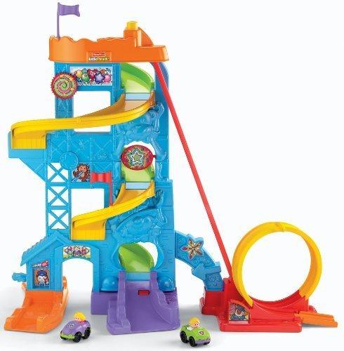 Fisher-Price-Wheelies-Loops-n-Swoops-Amusement-Park