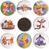 "Winnie the Pooh set of 8 - 2 1/4"" Fridge Magnets Tigger Great Gifts!!"