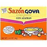 Goya Sazon Azafran Seasoning (1.40z)