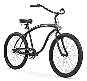 Firmstrong Bruiser Man Three Speed Beach Cruiser