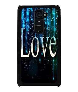 PrintVisa Metal Printed Love Designer Back Case Cover for LG G2-D5105