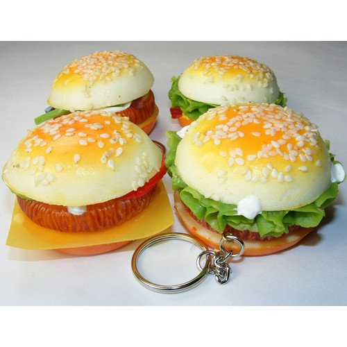 KAWAII SQUISHY HAMBURGER - 1