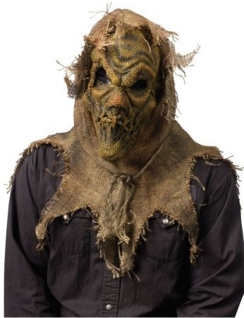 Costumes For All Occasions FW93203N Scarecrow Mask - Natural