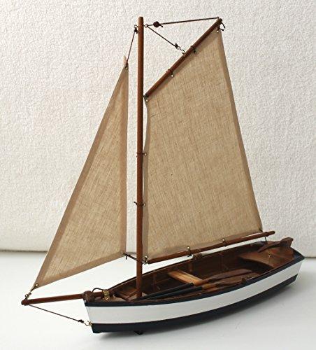 Decorative Wooden Sailing Ship Boat Rudder Belt 54 x 32 cm