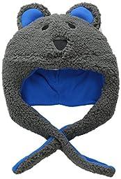 Columbia Baby Boys\' Tiny Bear Hat, Boulder/Coal, One Size