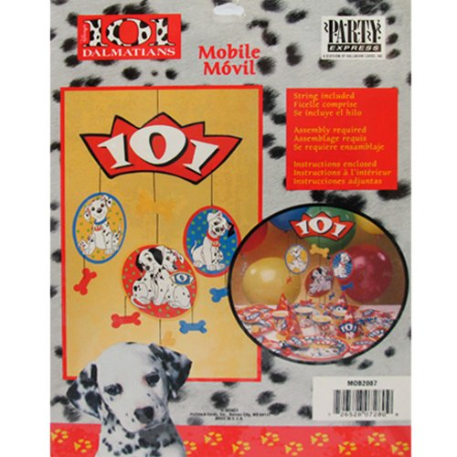101 Dalmatians Hanging Mobile Decoration (1ct)