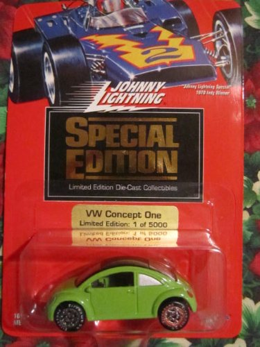 Johnny Lightning 1994 Special Edition VW Concept One (Lt Green) Limited Edition 1 of 5000 - 1