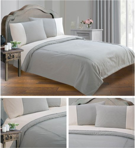 king-size-black-lexington-stripe-lincoln-wovern-yarn-dyed-duvet-quilt-cover-bedding-set