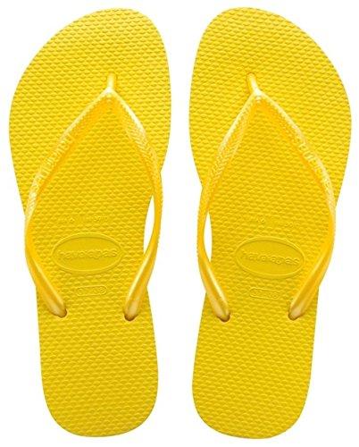 Havaianas 4000030, Infradito Donna, Giallo (Revival Yellow 2827), 38 EU