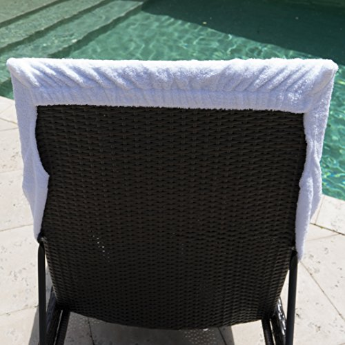 "Winter Park Towel Co Chaise Lounge Chair Cover Towel 40"" x 90"""
