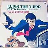LUPIN THE THIRD PART IV ORIGINAL SOUND TRACK~ITALIANO [Analog]