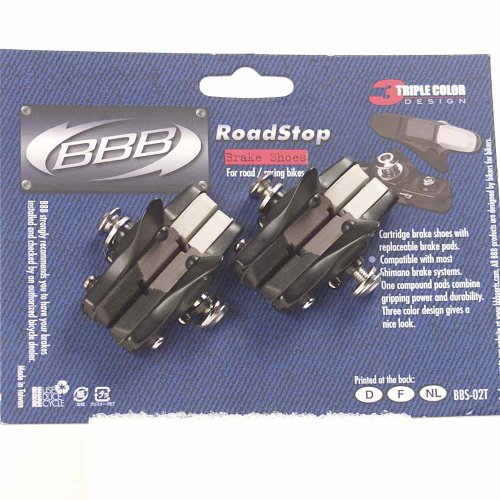 Buy Low Price BBB Road Stop Road Bicycle Brake Pads – Triple Color – 55002031 /BBS-02T (B0015DIQR0)