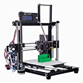 "HICTOP Filament Monitor Desktop 3D Printer Reprap Prusa I3 Full Aluminum Frame MK8 DIY Kit CNC Self-assembly Tridimensional Printing size 10.6"" x 8.3"" x 7.7"""