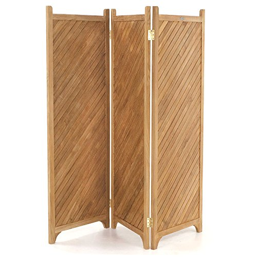 Teak outdoor privacy screen a great way to enjoy your for Buy outdoor privacy screen