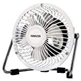 YAMAZEN 10cmミニマグネット扇風機 YMS-A10(W) ホワイト