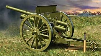 Maquette Canon d'Artillerie soviétique 1902/1930 76.2mm , 2ème GM