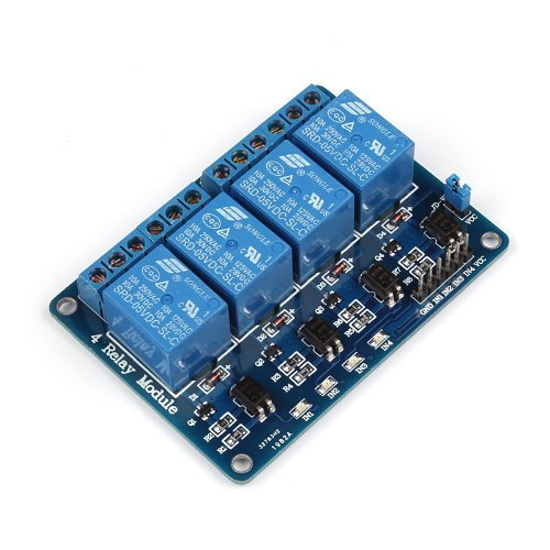Generic 4-Channel 5V Relay Module For Robot Diy Dsp Avr Pic Arm