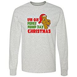 Merry Hump Day Christmas Camel Long Sleeve T-Shirt