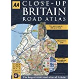 AA Close-up Britain Road Atlasby AA Publishing