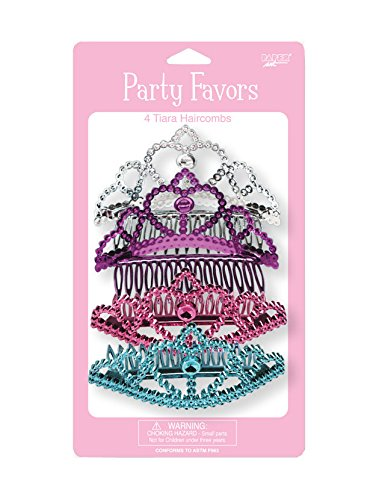 Creative Converting Fairytale Princess 4 Count Child Tiara