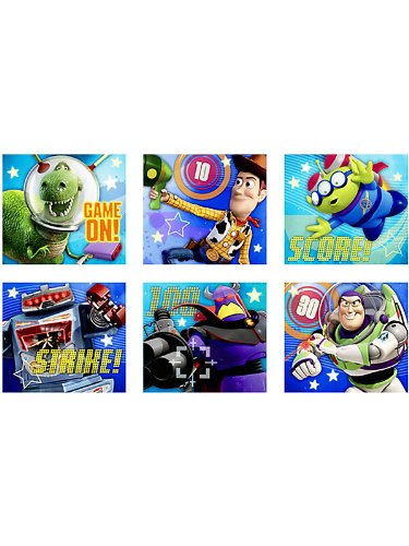 Toy Story Game Time Stickers - 1