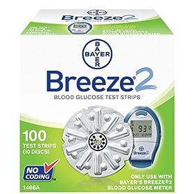 Bayer Breeze Test Strips