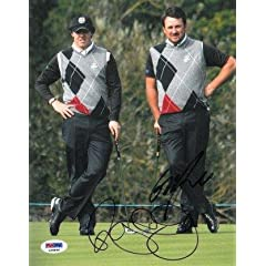 Buy Rory McIlroy signed 8x10 Photo Ryder Cup w  Graeme McDowell- PSA Hologram - Autographed Golf Photos by Sports Memorabilia