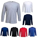 "Fruit of the Loom Longsleeve Langarm T-Shirt in 7 Farben und 5 Gr�ssenvon ""Fruit of the Loom"""