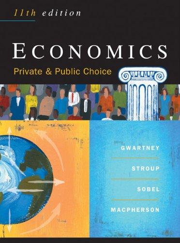 Economics: Private and Public Choice (11th edition)