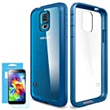 Spigen Ultra Hybrid Bumper Case for Samsung Galaxy S5 - Electric Blue