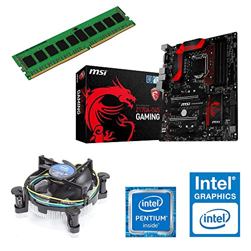 Aio Pc Upgrade Kit | Intel Core I3-4130 Haswell, 2 X 3.40 Ghz | New | Motherboard: Msi Z87-g45 Gaming | 4 Gb (1 X 4096 Mb Ddr3 Ram 1333 Mhz) Memory | Cpu Motherboard Bundle | Graphic: On Board | Fully Mounted Ready! 4096 Mb Ddr3 Arbeitsspeicher Ohne Grafi Picture