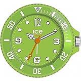 Ice-Clock 90 mm Travel Alarm Clock, Green