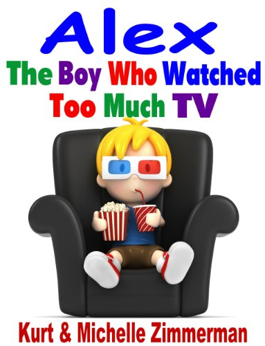 """<strong>Student Reviewer, David, Looks at <em>Alex, The Boy Who Watched Too Much TV</em> by Michelle & Kurt Zimmerman: """"This book helped me realize that I could go outside more and just hang out with my friends and not play video games.""""</strong>"""