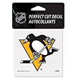 WinCraft NHL Pittsburgh Penguins Perfect Cut Color Decal, 4