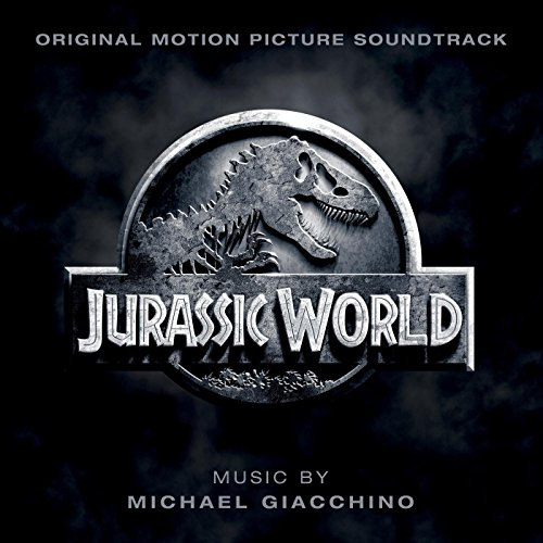 Original album cover of Jurassic World (Original Motion Picture Soundtrack) by Michael Giacchino