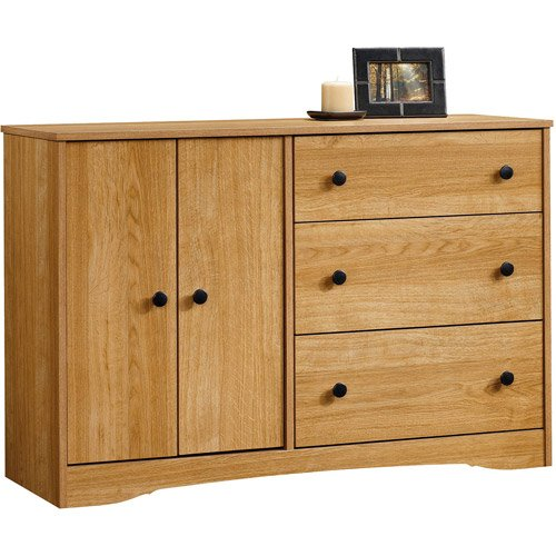 Chocolate Wood 4 Drawer Dresser Chest Wood Bedroom Furniture front-933365