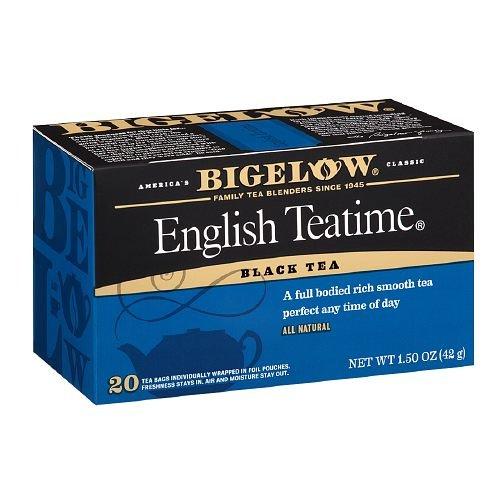Bigelow English Teatime Tea 20 Bags (Pack Of 2)