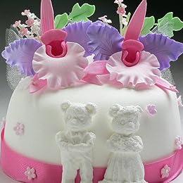 シュガークラフトケーキ ウエディング〔カトレアのケーキ〕