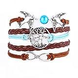 Susenstone®Handmade Multilayer Wristband Bracelet