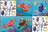 Blue Mountain Wallcoverings 31420600 Finding Nemo Self-Stick Decorating Kit