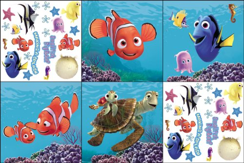 Blue Mountain Wallcoverings 31420600 Finding Nemo Self-Stick Decorating Kit