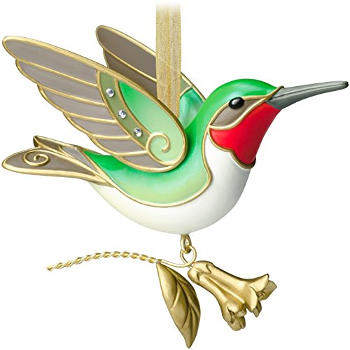 Hummingbird 10th In The Beauty Of Birds Series – 2014 Hallmark Keepsake Ornament