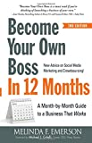 img - for Become Your Own Boss in 12 Months: A Month-by-Month Guide to a Business that Works book / textbook / text book