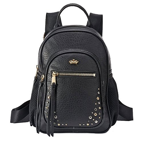 Juicy Couture Arielle Studded Mini Backpack - Black (Juicy Couture Side Bag compare prices)