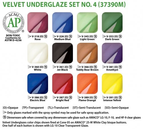amaco-velvet-underglaze-set-4-set-of-12-colors-2-oz-jars