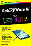 Samsung Galaxy Note III Poche Pour les Nuls
